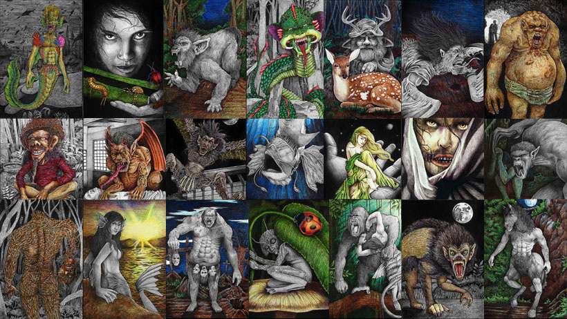 A Compendium of Creatures & Mythical Beings from Philippine
