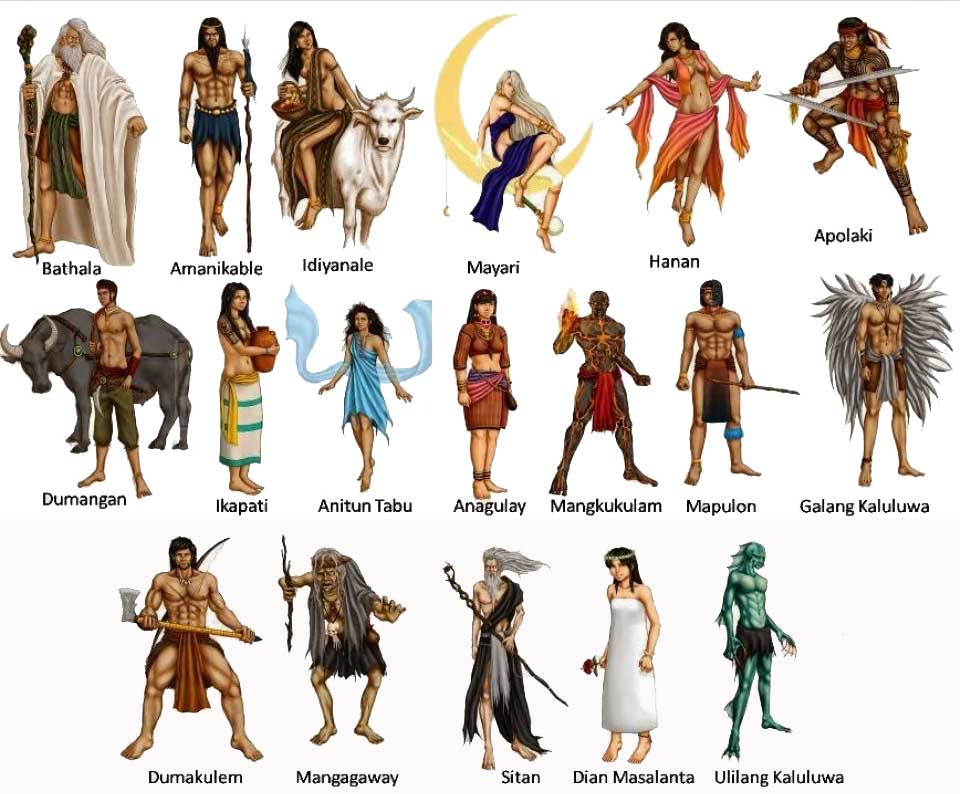 12 gods and goddesses of olympus tagalog