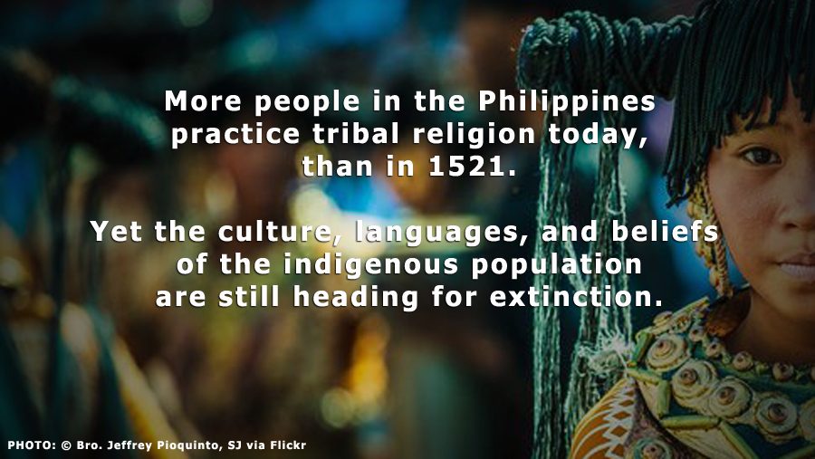 PHILIPPINES: More People Practice Tribal Religions Today, than in